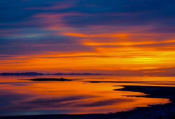 larry_whittaker_antelope island sunset