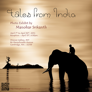 Solo Show: Tales From India April 2012