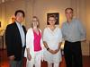 Kevin Lee, Anita Gangi Balkun, Joanne Schmaltz & Gar Waterman<br /> Branford House Mansion<br /> Groton, Connecticut, USA<br /> Photo by Kayleigh Blanchard.