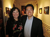 Julia M. Pavone, Curator/Director, Alexey von Schlippe Gallery of Art, & Kevin Lee<br /> Avery Point, Groton, Connecticut, USA
