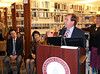 Congressman Ed Royce addresses the audience.<br /> Chapman University