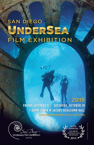 16th Annual San Diego UnderSea Film Exhibition