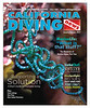 """California Diving News"", Front Cover, Spiralis chaetomorpha, Catalina, California.<br /> Published January 2015."