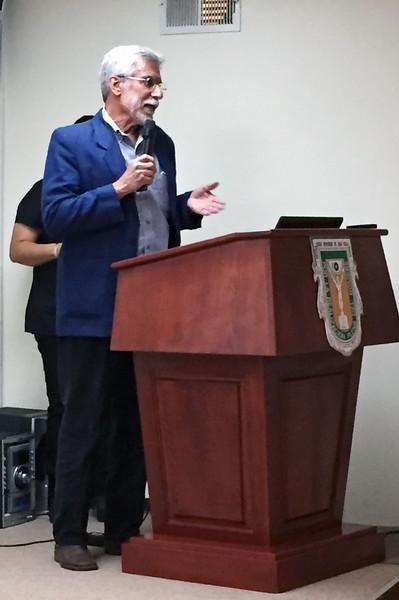 """Dr. Richard Brusca, co-author of """"Invertebrates"""""""