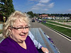Sharon Wright, Academy of Excellence Inductee<br /> McKendree Homecoming Parade<br /> October 15, 2016