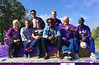 Alumni Excellence & Sports Hall of Fame Inductees, in Homecoming Parade