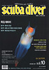 """Scuba Diver"", Front Cover, ""Sea Angel"" (Clione limacina)<br /> Svalbard Archipelago, Norway, 600 miles from the North Pole.<br /> Published September 2011."