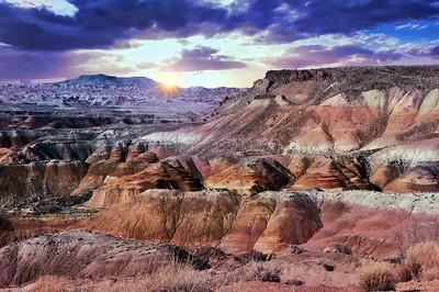 Painted Desert - Summer Landscape