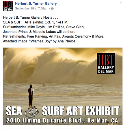 HBT Gallery in Del Mar.