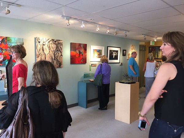 Front Porch Juried Exhibit. July 2015
