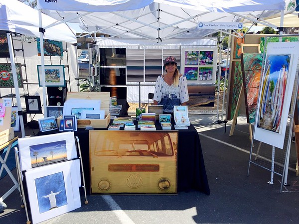 Leucadia Art Walk. Aug 28 2016.