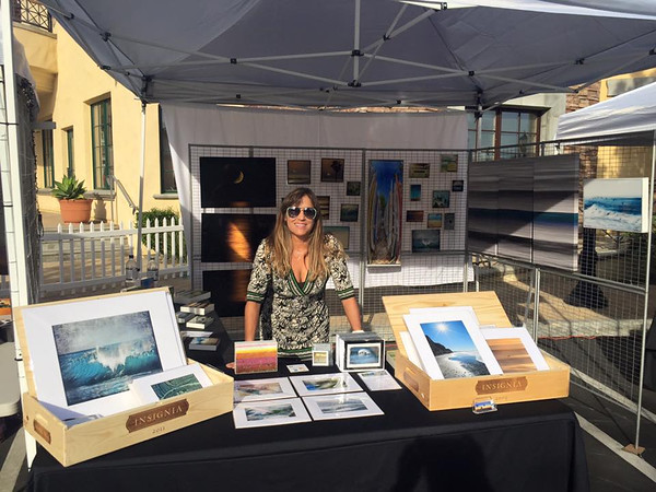 Rancho Santa Fé, Art and Food Festival at Cielo. 2015.