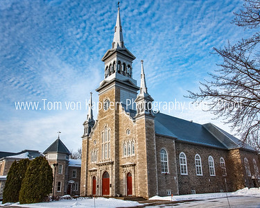 Church, Gentilly Quebec