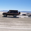 Full view of Dan's rig with him taking a picture of us taking a picture of him.