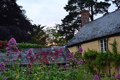 Sunset at the Gatehouse.