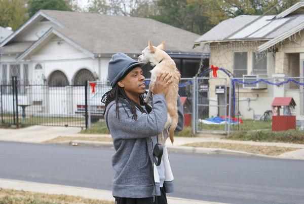 Production Stills 09 Katrina's Son first day