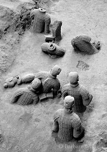 Buried Clay Soldiers