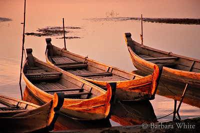 Boats On The Ayeyarwady