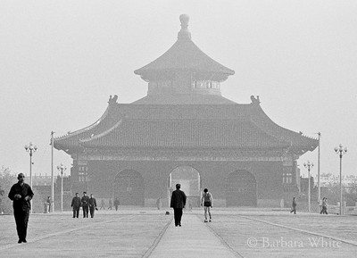 Early Morning At The Temple Of Heaven