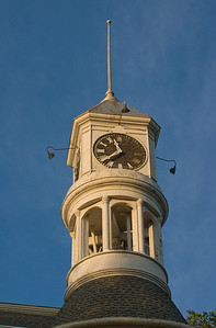 Columbus, Wisconsin, city, hall, clock, tower