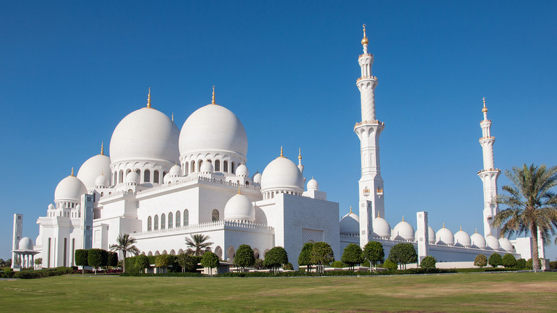 Abu Dhabi | Sheikh Zayed Grand Mosque