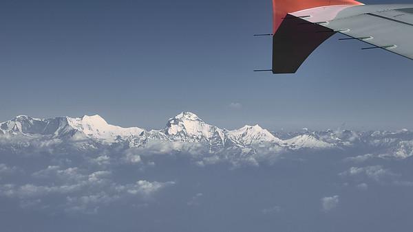 Přílet do Kathmandu