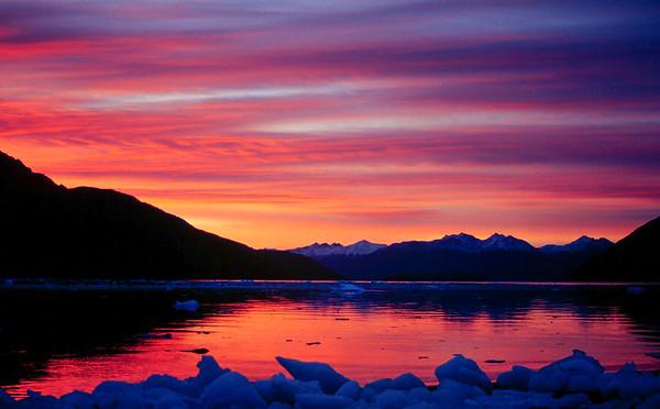 Fiordo Keats, Tierra del Fuego, Magallanes. Expedición Seakayak 2002