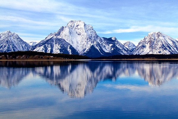Cold and Clear Reflections