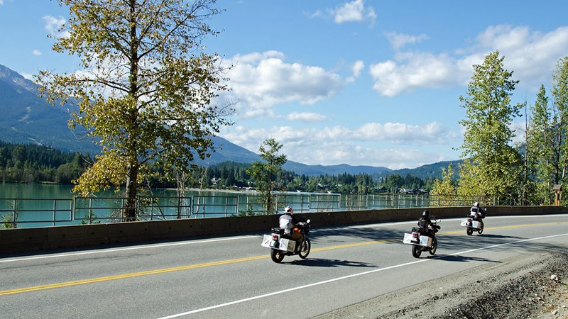 Riding Whistler - I am the one in Black on the right-  photo credit Mark Hall