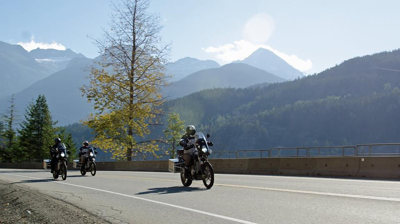 Expedition Electric crew riding in Whistler, Canada - photo credit Mark Hall