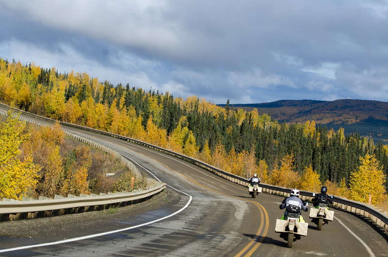 Paved part of the Dalton Hwy, Alaska - this ride is stunning!