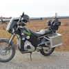Still not named but she is out there riding the Dalton Hwy - feels great to be out there riding again.