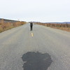 Not to much traffic along the extra mile - Dalton Hwy walk