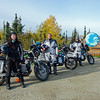 Expedition Electric team at our Northern Departure site -Arctic Circle