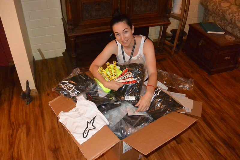 Alpinestars really taking care of the Expedition Electric riders! A nice full box!