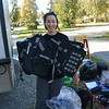 Mosko Moto bags unpacking and prepping for the ride - on site in Fairbanks, AK