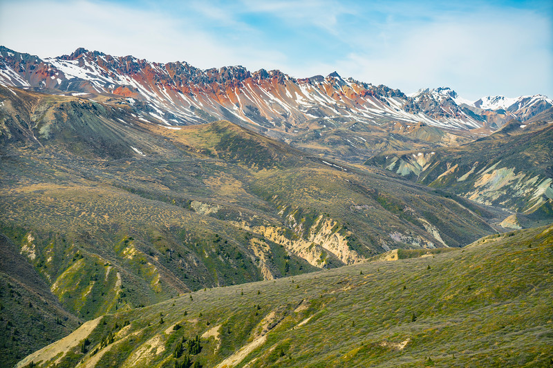 Kluane Foothills in Yukon 2018