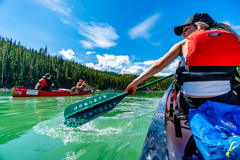 Paddling the Yukon River, Yukon 2018
