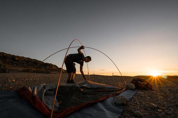 Setting Camp Northern Region, Namibia 2017