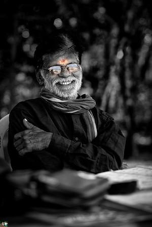 Swami on Jolly Buoy Island, Andaman