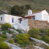 Church at Tzia campsite