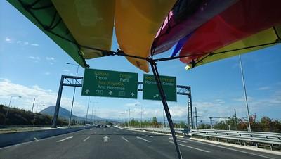 The Road trip begins