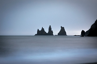 Sea Stacks at Vic   Soft Seas - Long Exposure