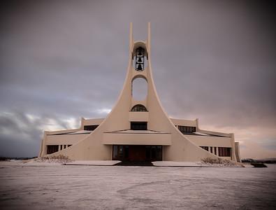 Church in Sykkmisholmur