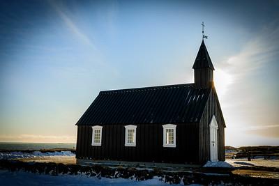 Historic Black Church in Budir Hamlet