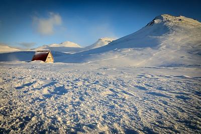 Old ski hut off Hwy 56 on Snaefellsnes Peninsula