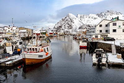 Harbor at Henningsvær