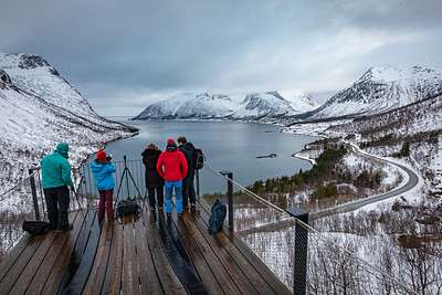 Viewpoint abve Bergsfjord