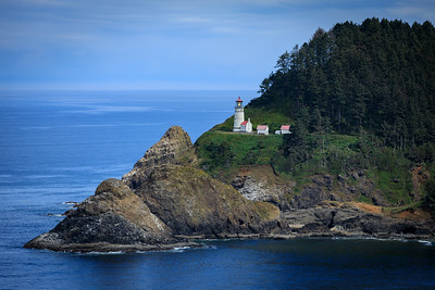 Haceta Lighthouse on Oregon coast.