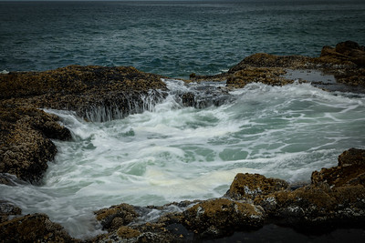 Thor's Well on Cape Perpetua Oregon